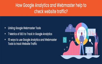 How Google Analytics and Webmaster help to check website traffic?